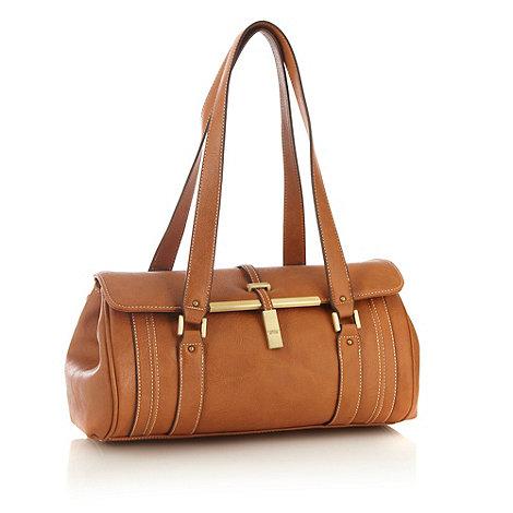 Fiorelli - Tan branded strap detail shoulder bag
