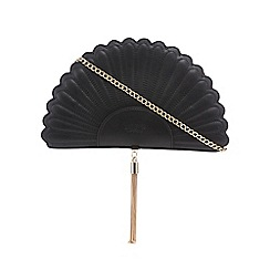 LYDC - Black fan clutch bag