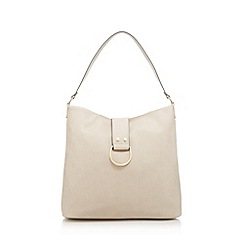 The Collection - Natural slouchy shoulder bag