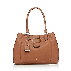 The Collection - Tan buckle shoulder bag