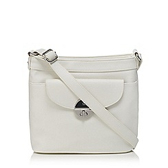 The Collection - White cross body bag