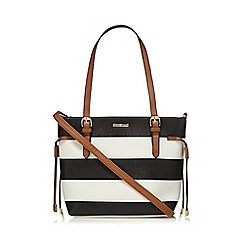 The Collection - Black wide striped grab bag
