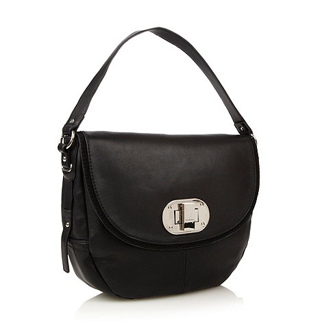 Fiorelli - Black twist front shoulder bag