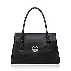 The Collection - Black faux leather tote