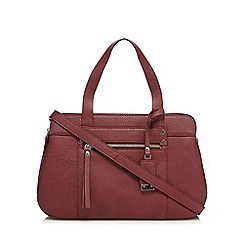 The Collection - Dark red three pocket grab bag
