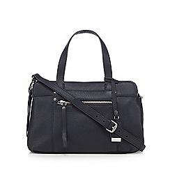 The Collection - Navy three pocket grab bag
