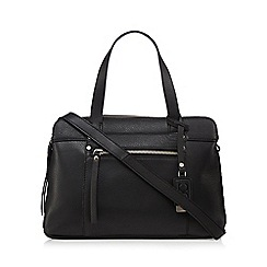 The Collection - Black three pocket grab bag