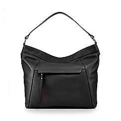 The Eighth - Black leather shoulder bag