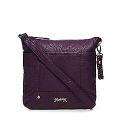 Mantaray - Purple cross body bag