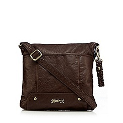 Mantaray - Dark brown cross body bag