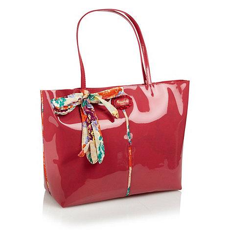 Sacha - Red patent tote bag