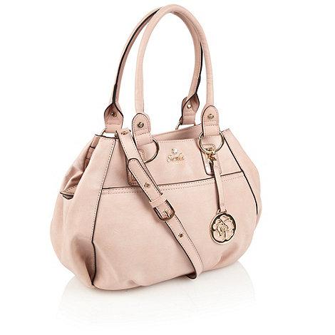 Sacha - Light pink three section scoop bag