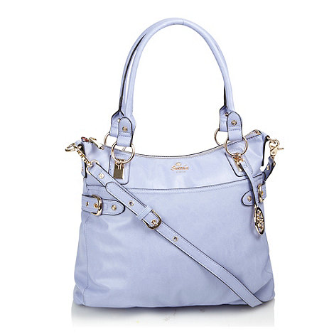 Sacha - Lilac leatherette tote bag