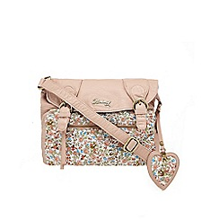 Mantaray - Light pink ditsy print shoulder bag