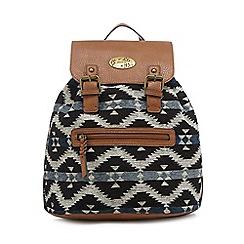 Mantaray - Multi-coloured textured backpack