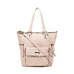 Mantaray - Pink top zip shopper bag