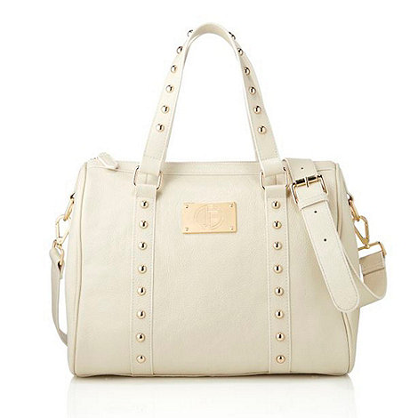 Jack French - Cream +bloomsbury+ weekender bag