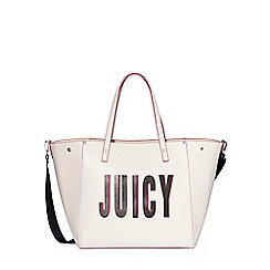 Juicy by Juicy Couture - White 'Arlington' soft tote bag