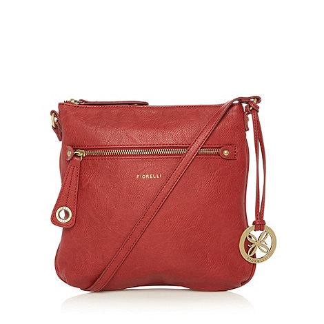 Fiorelli - Red logo cross body bag