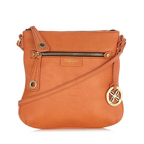 Fiorelli - Light orange zip pocket cross body bag