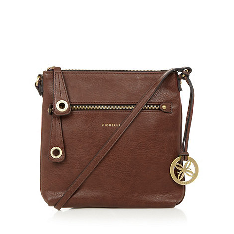 Fiorelli - Chocolate logo cross body bag