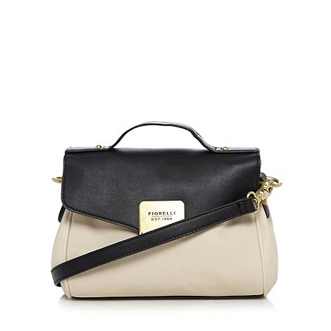 Fiorelli - White mini colour block satchel bag