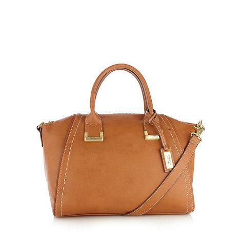 Fiorelli - Tan winged zip top grab bag