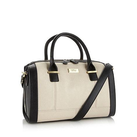 Fiorelli - White colour block bowling bag