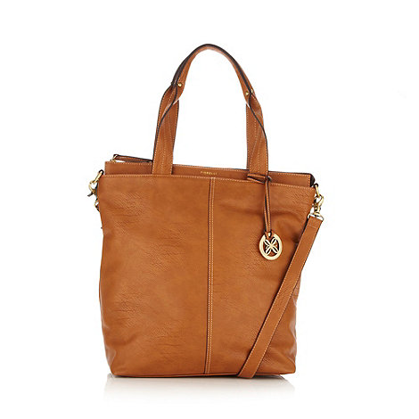 Fiorelli - Tan a4 shopper bag