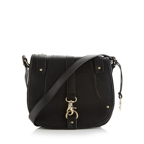 Fiorelli - Black clip front satchel bag