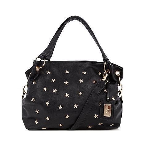 Red Herring - Black star studded tote bag
