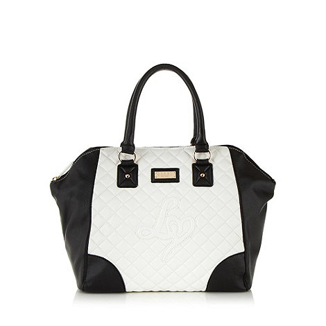 Lipsy - White quilted tote bag