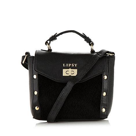 Lipsy - Black studded cross body bag