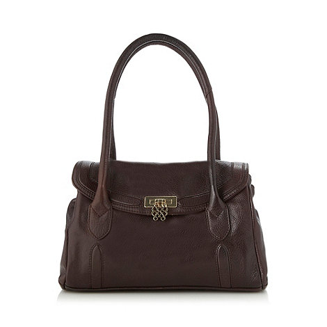 Bailey & Quinn - Dark brown +Kendall+ shoulder bag