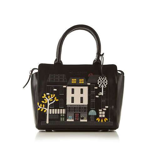 Bailey & Quinn - Black leather +Shop Picture+ tote bag