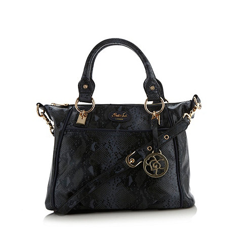 Sacha - Navy snake grab bag
