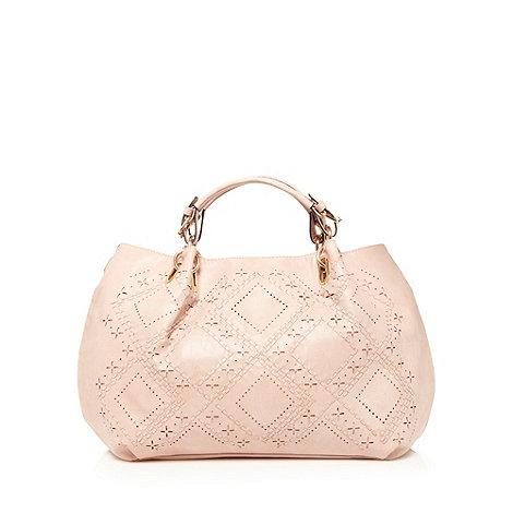 Sacha - Rose stitch hole handbag