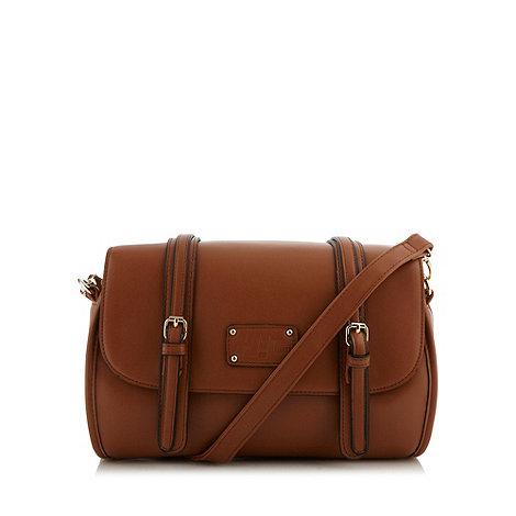 H! by Henry Holland - Designer tan curved satchel