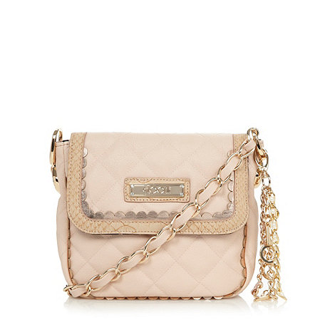 Floozie by Frost French - Designer  natural scallop quilted cross body