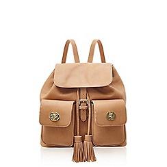 Marc B - Double pocket camel backpack