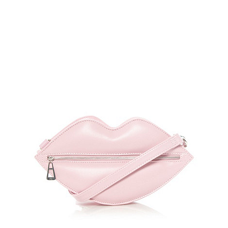 H! by Henry Holland - Designer pink lips cross body bag
