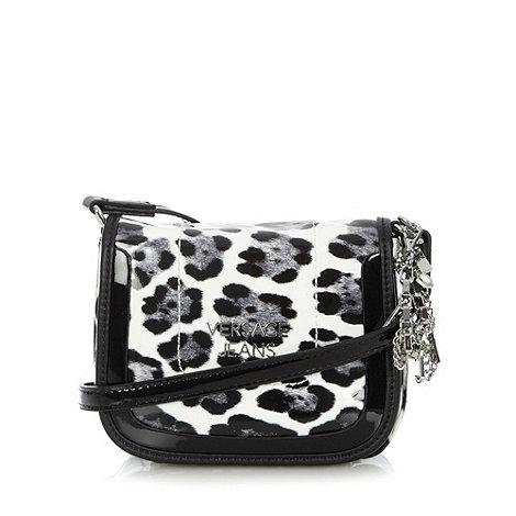 Versace Jeans - Black animal mini cross body bag