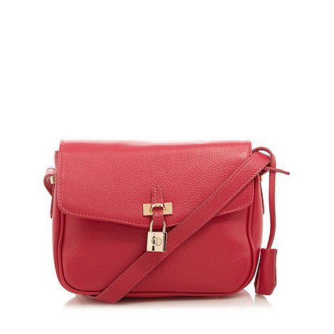 Jack French - Pink leather  +Islington+ cross body bag