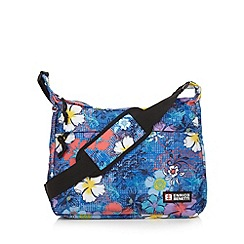 Enrico Benetti - Navy santa cruz floral crossbody handbag
