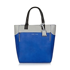 J by Jasper Conran - Designer blue bar fitting shopper bag