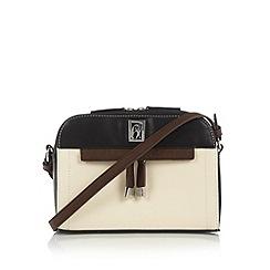 Principles by Ben de Lisi - Designer cream colour block cross body bag