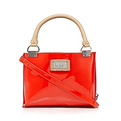 Principles by Ben de Lisi - Designer bright red patent three part grab bag