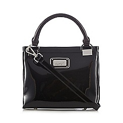 Principles by Ben de Lisi - Designer black patent three part grab bag