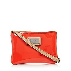 Principles by Ben de Lisi - Designer bright red patent mini cross body bag