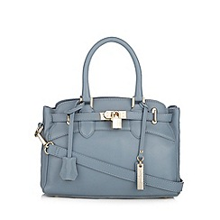 J by Jasper Conran - Designer light blue leather mini tote bag